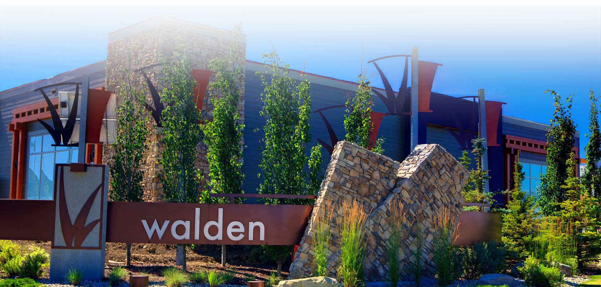 Walden Community Sign