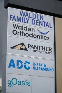 Signage | Walden Family Dental