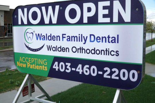 Street Sign | Walden Family Dental