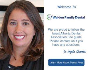 2020 Dental Fee Guide | Walden Family Dental